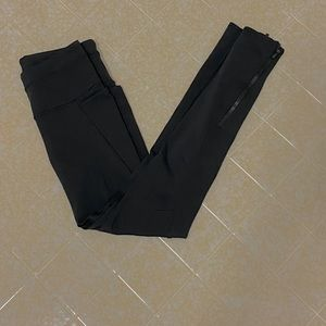 Athleta leggings, black, size XS